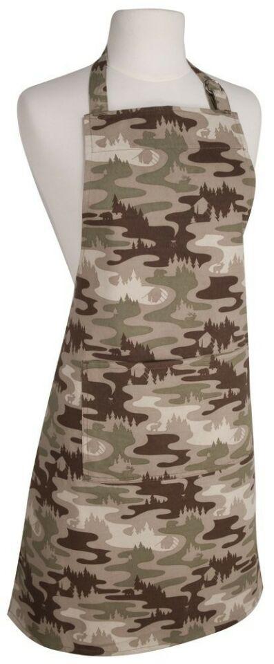Camouflage Bib Aprons