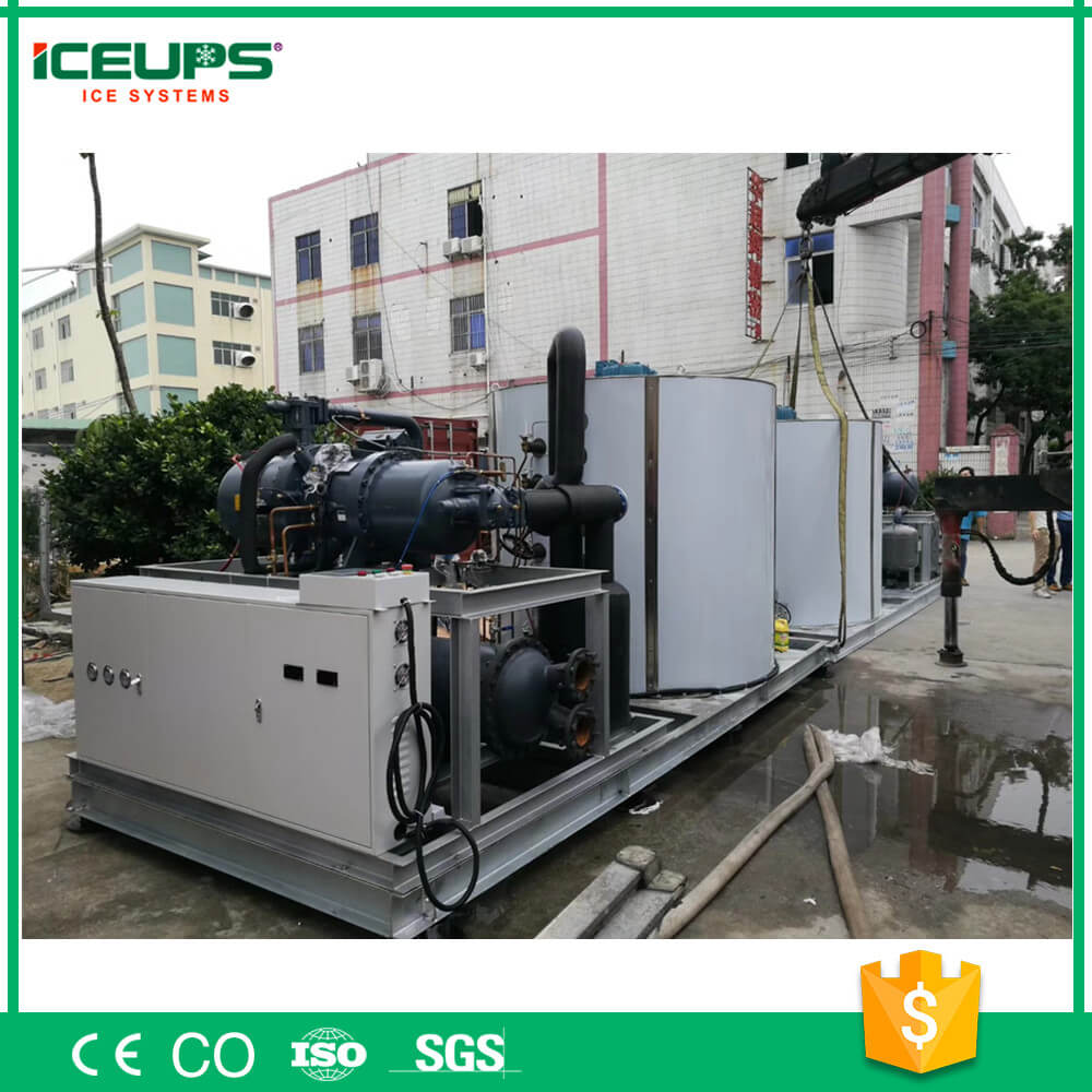 30tons Outdoor Industrial ICE Making Machine for Large Concrete Cooling