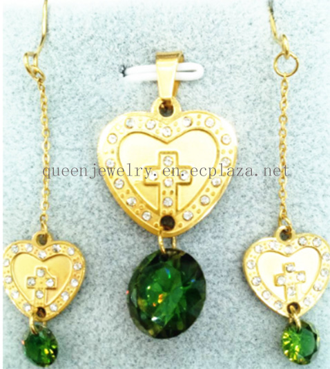 Custom name necklace Beauty and the beast necklace Charms Zircon Heart love Women Pendant