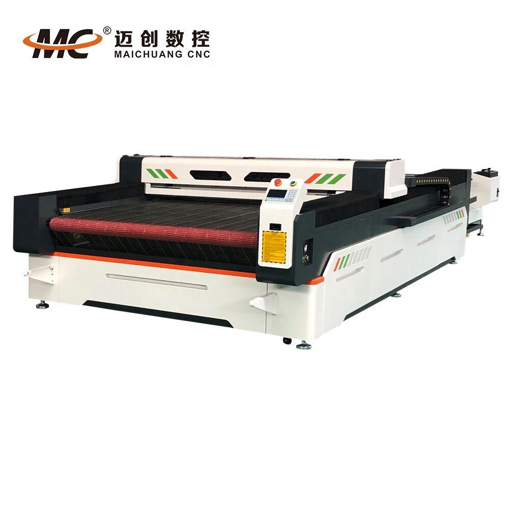High Value cloth cutting machine laser cut felt automatic industrial fabric cutting machineMC1630
