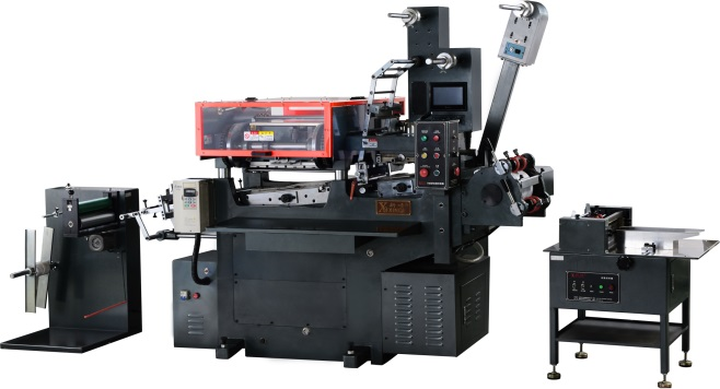 4 colors sticker label printing machine (CNC)