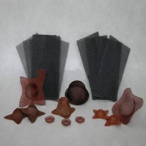 Silica fiberglass filtration for foundry
