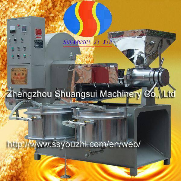 Multi Functional Screw Oil Press Machine