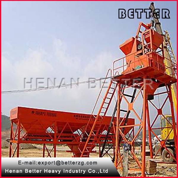 weight measure machine concrete batching plant