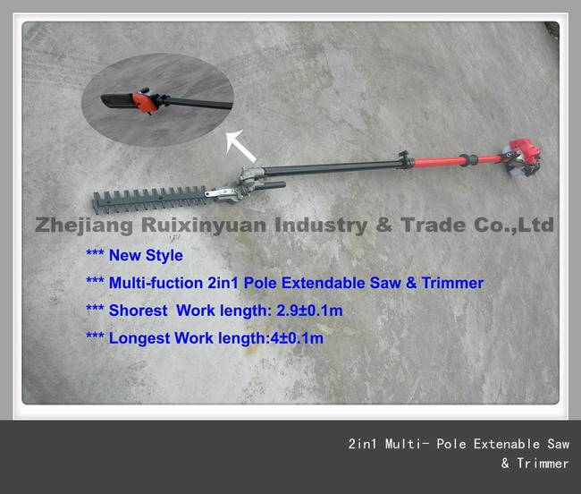 Multi-fuction 2in1 Pole Extendable Saw & Trimmer (2.8M-4.1M)