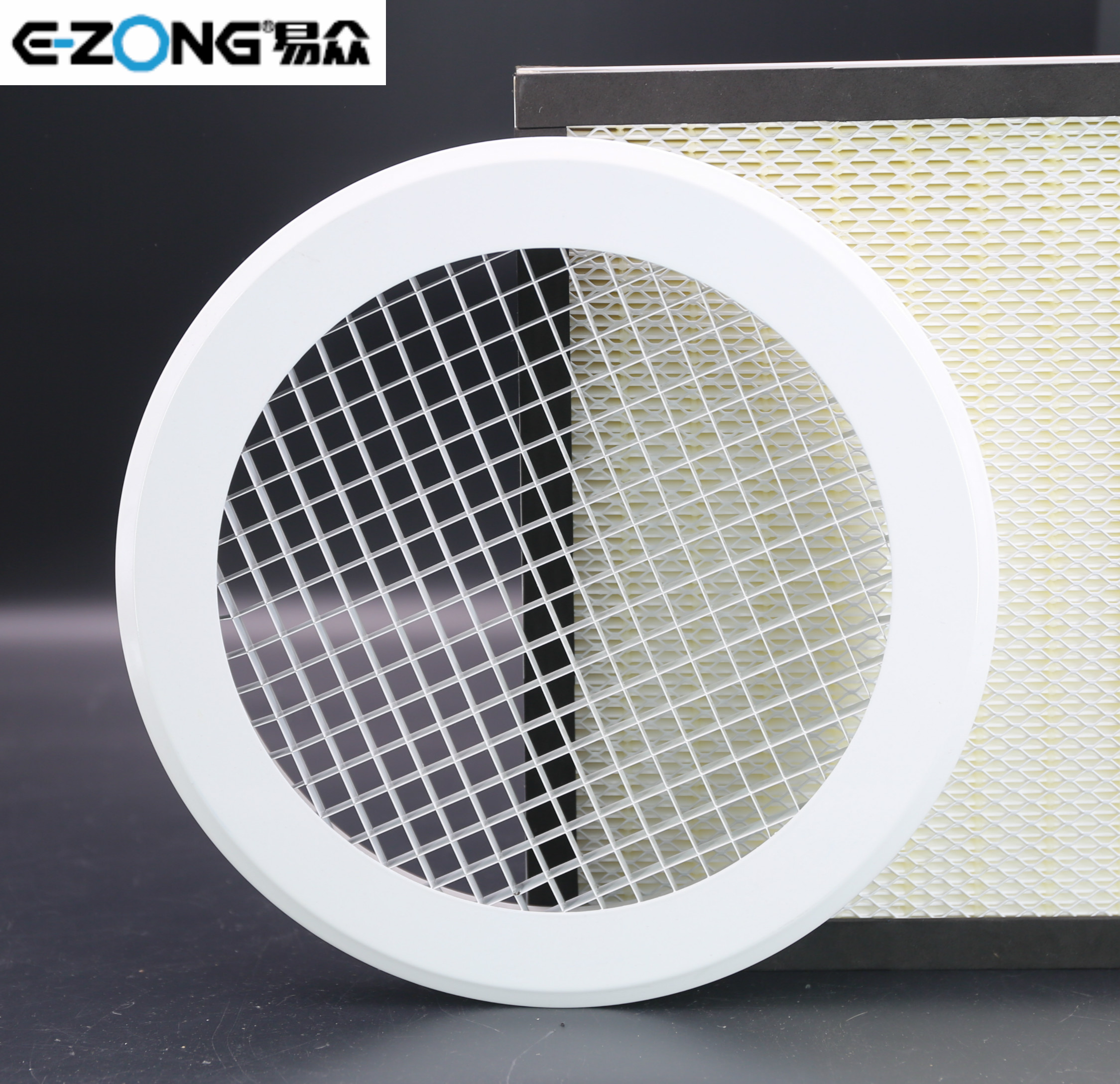 Round or rectangle eggcrate air grille