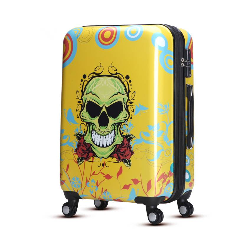 100% new imported abs pc luggage sets