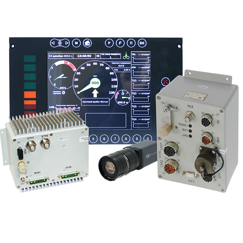 SOKOL-3 train movement parameters monitoring and recording system