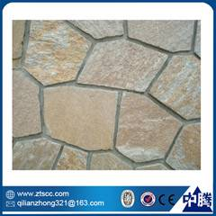natural outdoor use slate interlocking paving stone