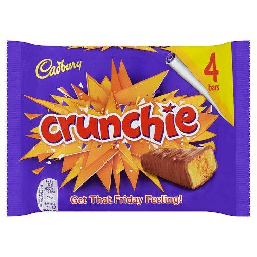 Cadburys Crunchie 4 Pack 104g
