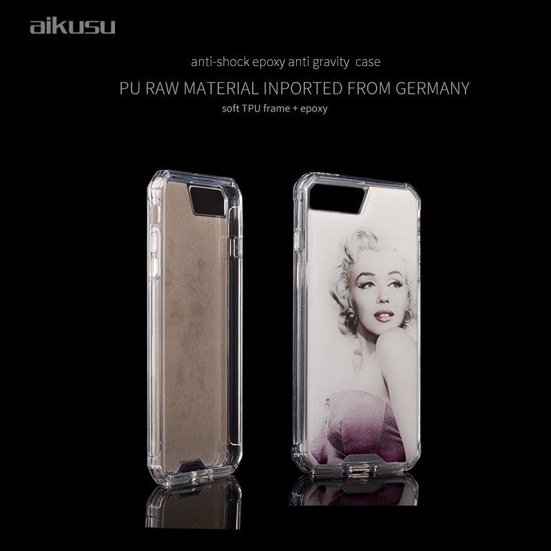 2016 wholesale anti shock anti gravity case for iphone7