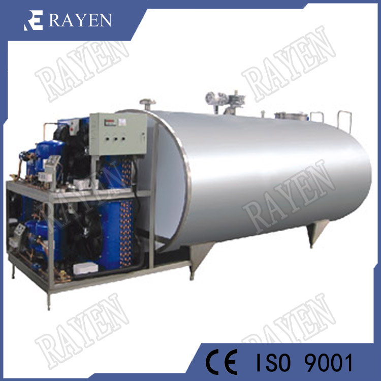 SUS304 Stainless Steel Milk Refrigerated Tank Milk Cooling Tank