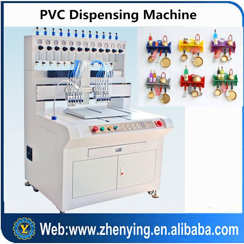New design soft pvc dispensing machine