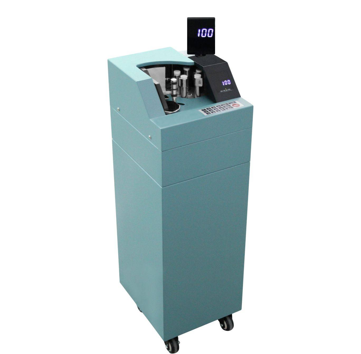 FDJ-126A Vacuum Money Counter With Semi-Automatic Dust Absorption Cover and UV for Bundled money
