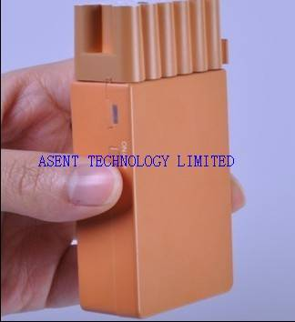 Cigarette Box Style Design Mini Portable Hidden Cell Phone Jammer AS-241-PRO