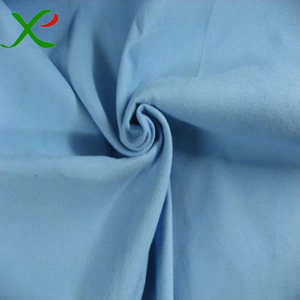 Microfiber suede towel fabric