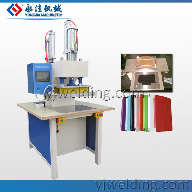 Pu leather mobile cover making machine