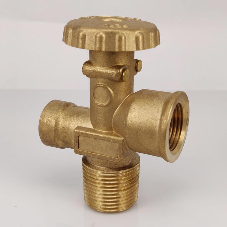 Handwheel lpg cylinder S45 valve for South America,Central America valve