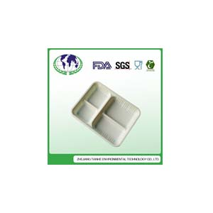 PP,corn starch,bacterial eaten pp,PLA food container