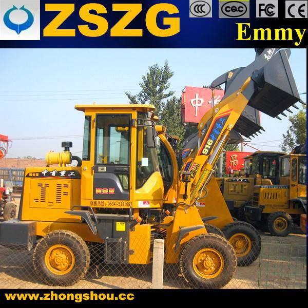 JinHong Machinery construction equipment 916 wheel loader
