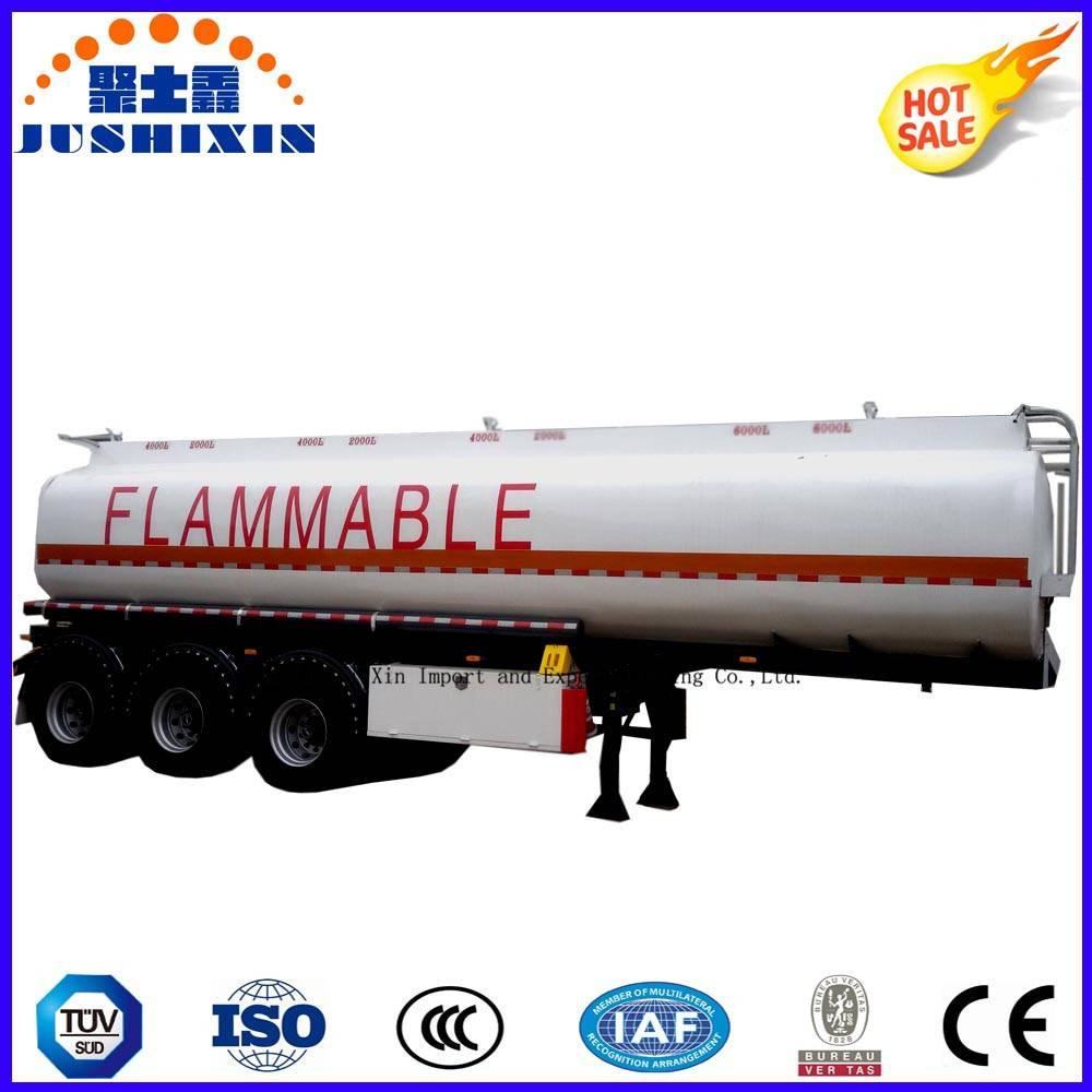 Tri Axle Butane Propane Gas LPG LNG Tanker Truck Semi Trailer