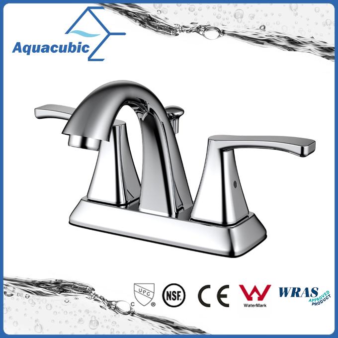 4 inch double handles basin mixer faucet ( AF8040-6 )