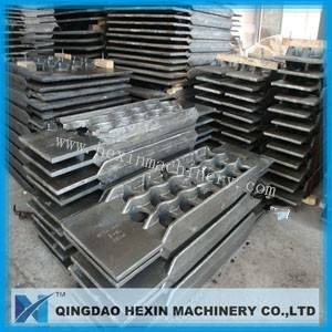 casting tube support, static casting tube sheet, tube hangers