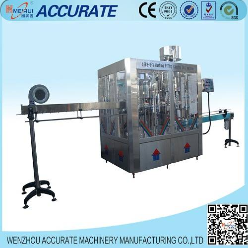 Monoblock mineral water filling machine