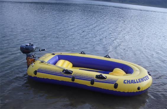 Gas motor boat 2-stroke (E-GB01)