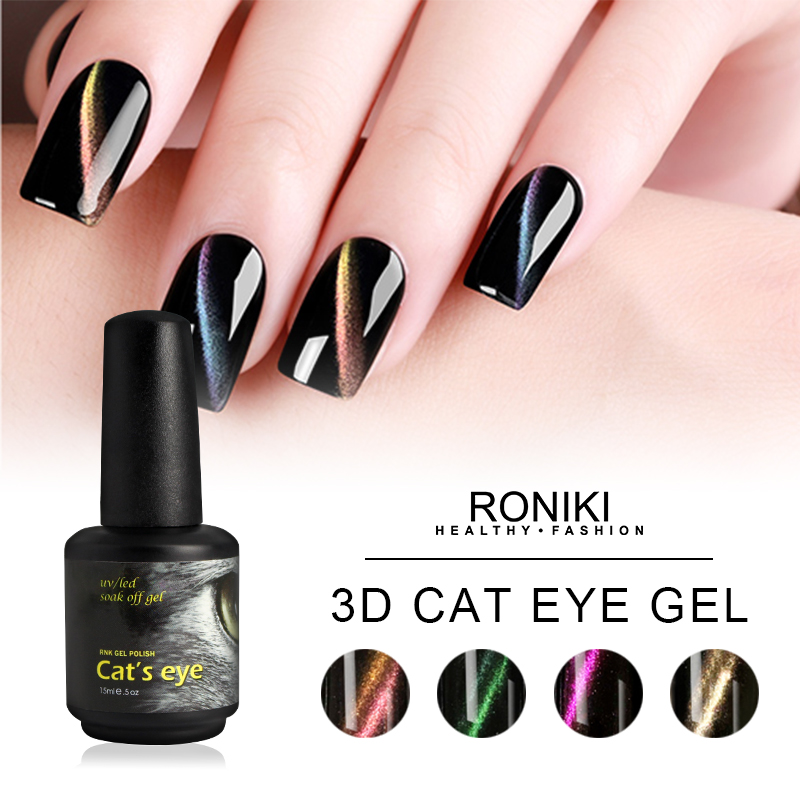 RONIKI 3D Cat Eye Gel Polish,Cat Eye Gel,Cat Eye Gel Polish,Cat Eye Gel Wholesaler,Variety Cat Eye G