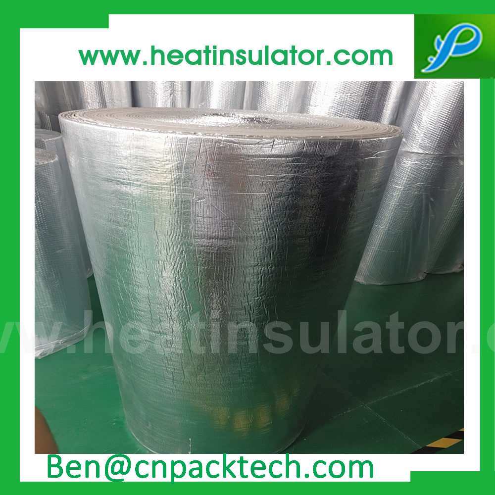 Thermal Break Adhesive Bubble Foil Insulation For Roof Class A