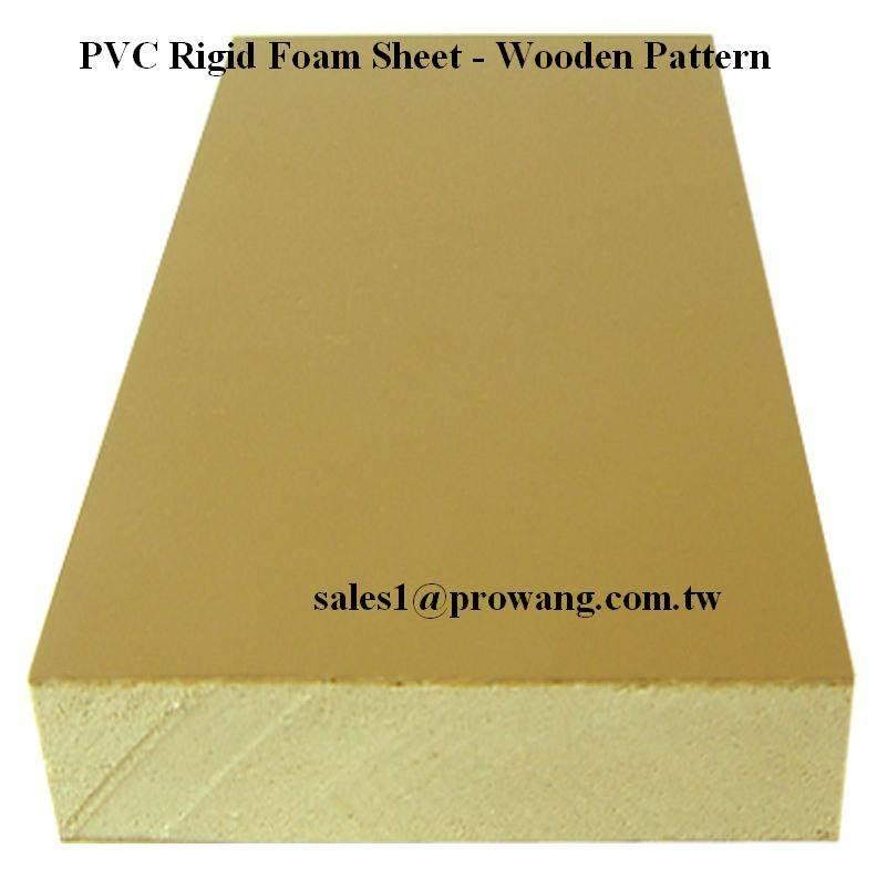 PVC Rigid Foam Sheets - Wooden Color 2