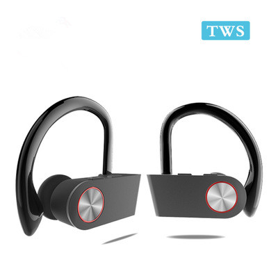 Soft Silicone Ear Hook Wirelss TWS Pairing Bluetooth Headset