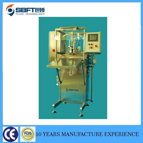 Non aseptic bag in box  filling machine