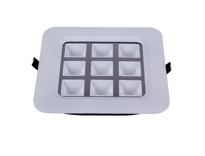 9W LED panel light 600600 ceiling light big power high quality high power factor for office,school