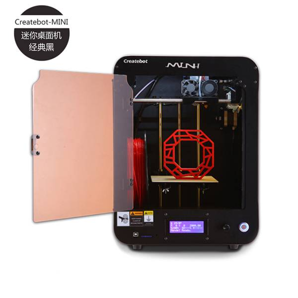 professional high precision createbot Mini 3d printer with touch screen