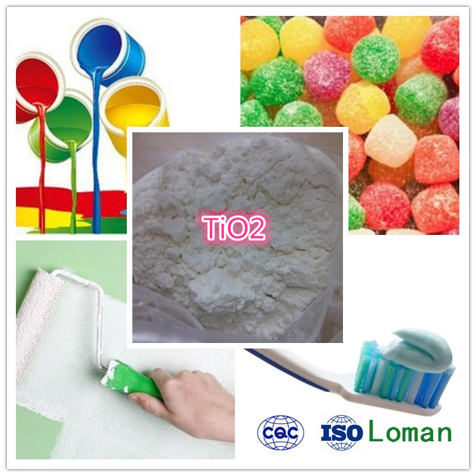 Pigment Manufacturer TiO2 High Purity 98% Anatase Titanium Dioxide, TiO2 Pigment