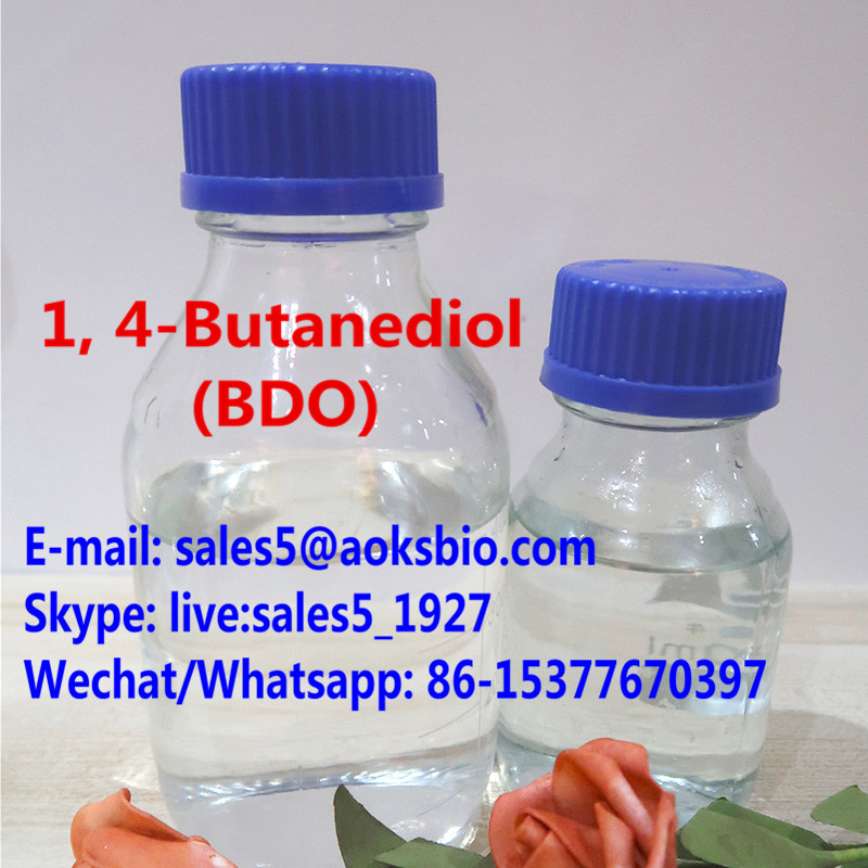 1, 4-Butanediol china supplier Colorless Viscous Oily Liquid 1, 4-Butanediol (BDO) cas 110-63-4