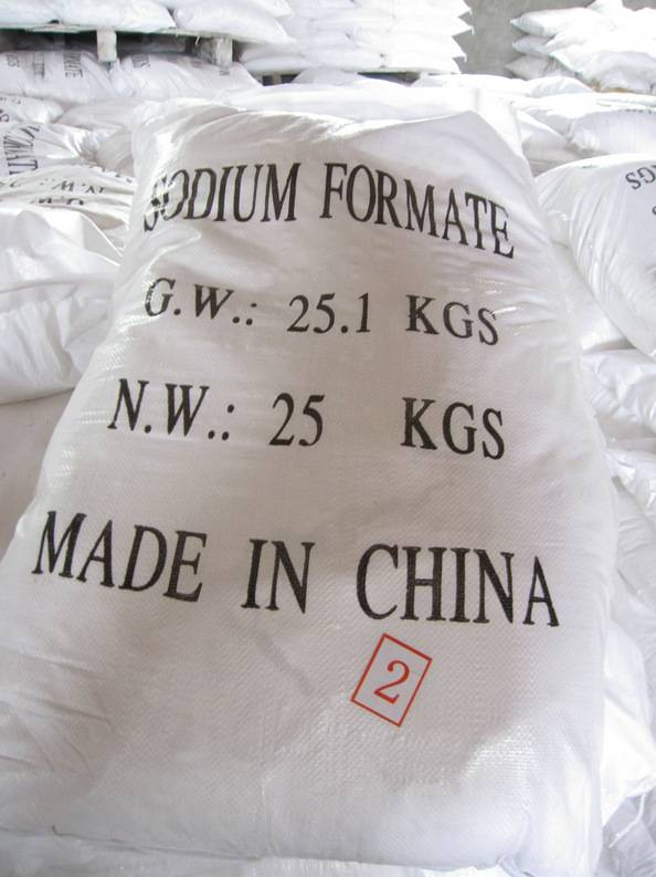 sodium formate used as deicing chemical
