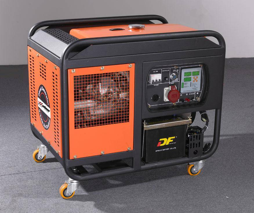 HD12000 open frame air-cooled diesel generator units