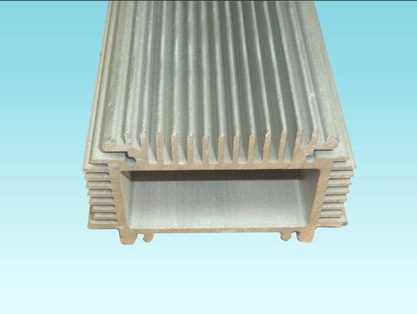 Alloy 6063, 6061,6005,6060 Anodized Aluminum Profiles with PVDF coating