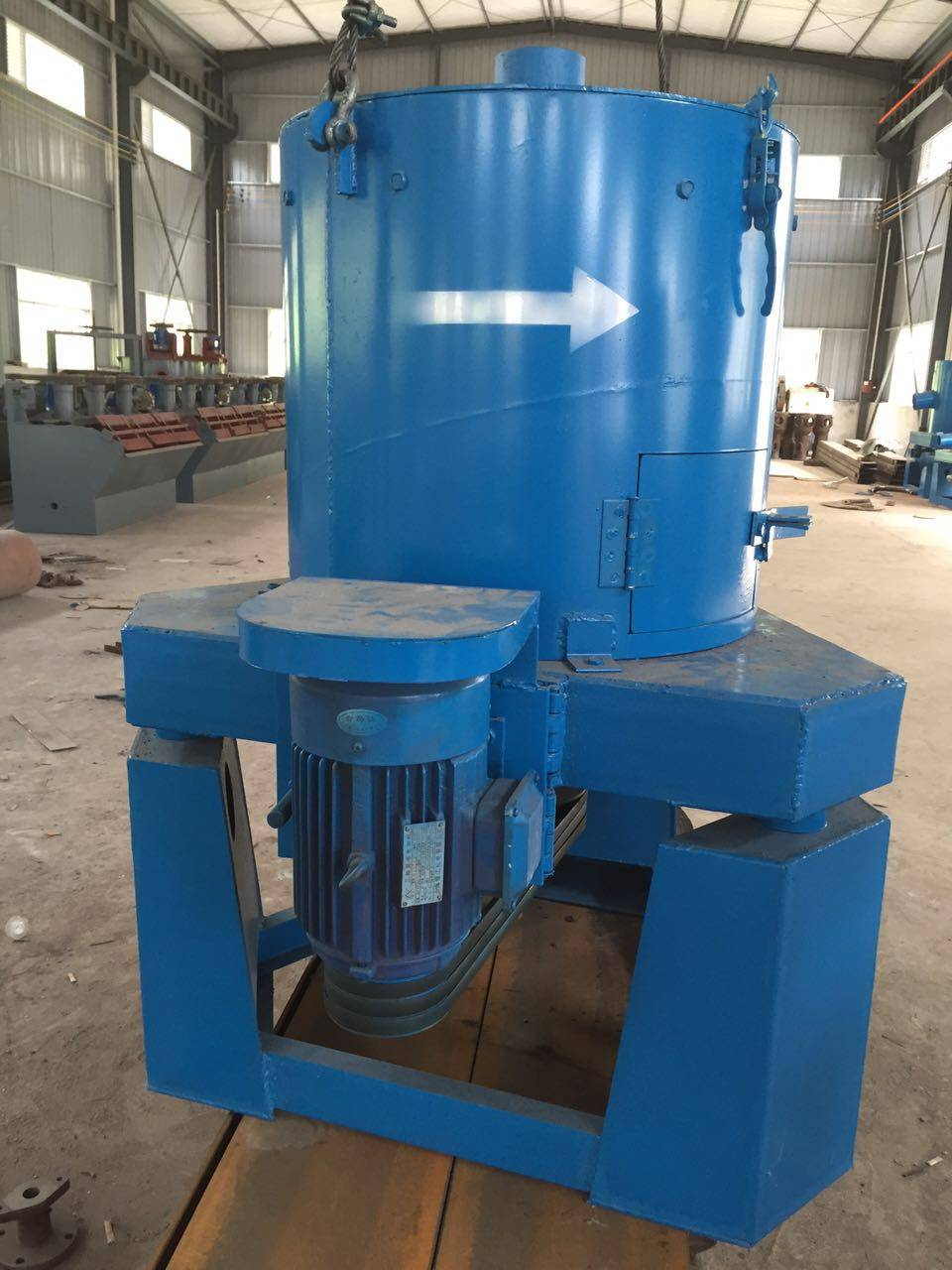 mineral centrifugal concentra Large capacity high quality low cost gold ore dressing gravity machine
