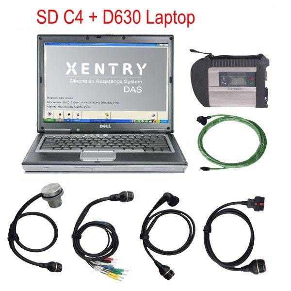 Wifi SD Connect Compact4 With Dell D630 Laptop 2015.07 For Mercedes