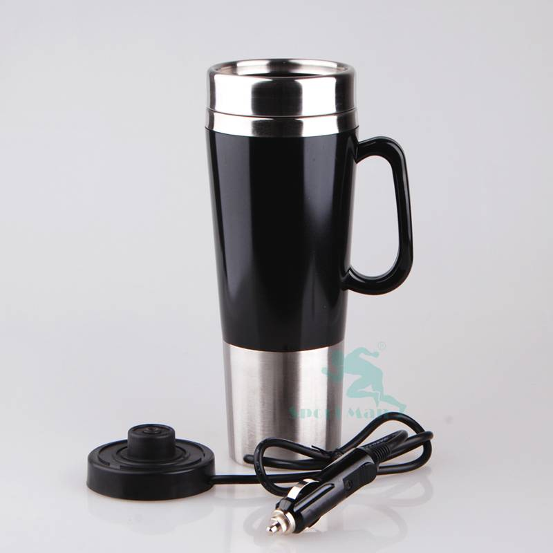 Bulk 12V Electric Metal Heat Car Cup Mug Coffee Thermos