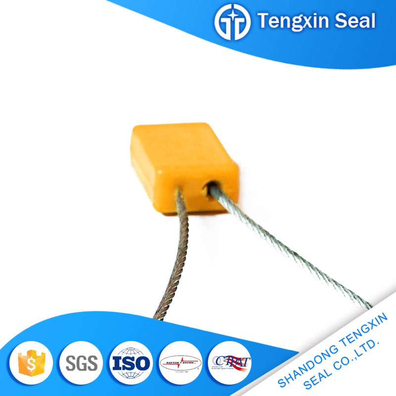 TX-CS002 High Quality And Inexpensive pull tight lock 1.5mm cable seal