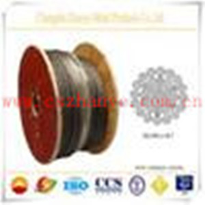 Shaft hoisting wire rope