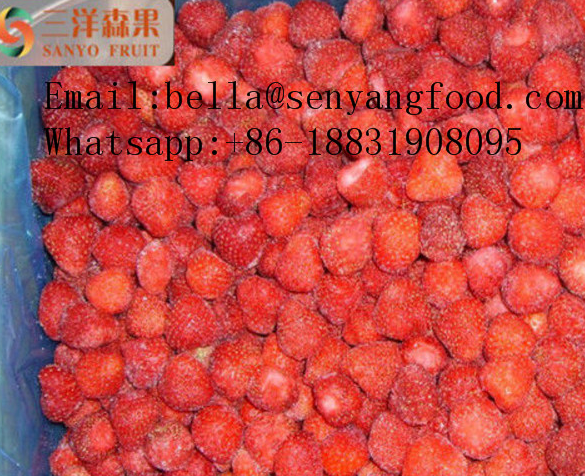 IQF strawberries whole/dices frozen food