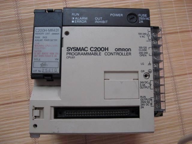 Omron PLC  C200H/C500/CJ1W/