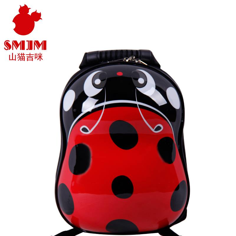 Peanut Shape Shanmao Designer Coll Kids Backpacks for School