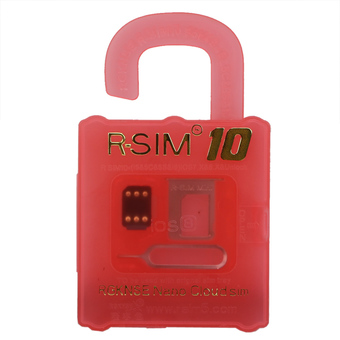 R-SIM 10 RSIM 10 unlocking card for IOS 8 iphone 6 5s 5 4s unlocking sim card